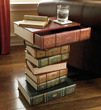 decorating ideas with books 9