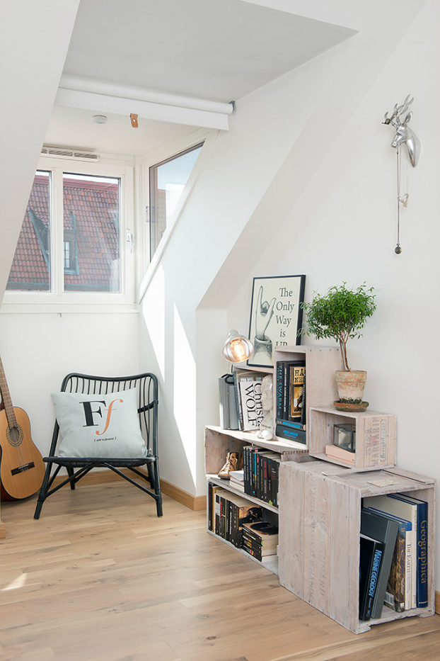 bright scandinavian attic 17