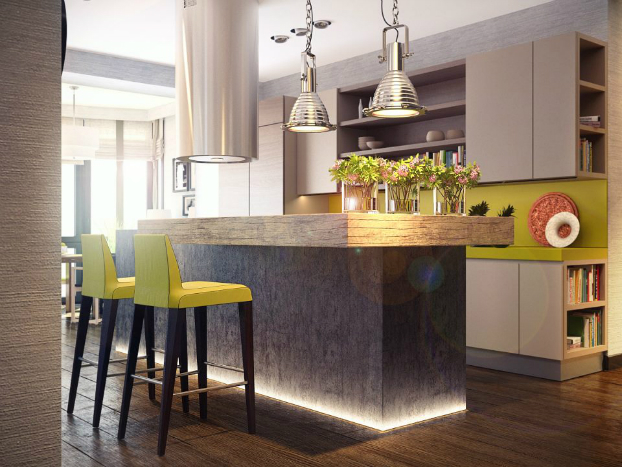 contemporary kitchen by sokruta 2