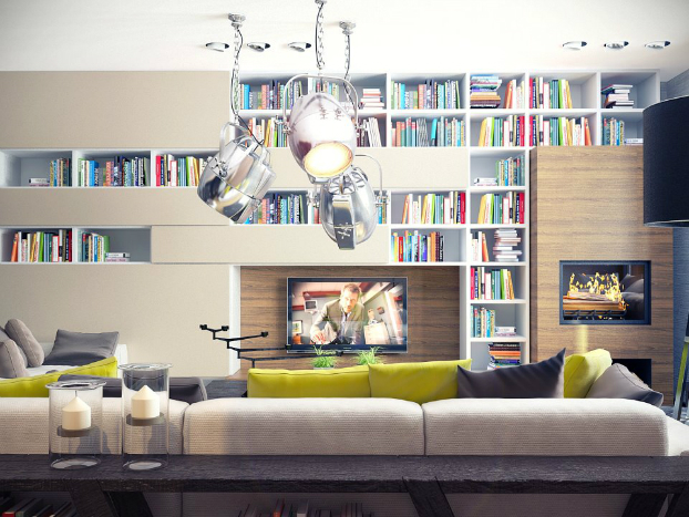 contemporary living room by sokruta 3