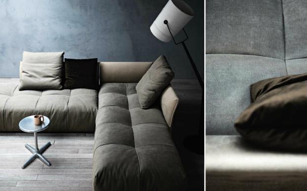 contemporary sofa by saba italia