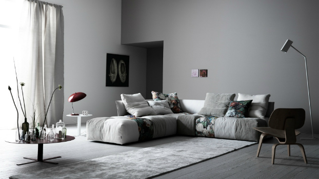 contemporary sofa by saba italia