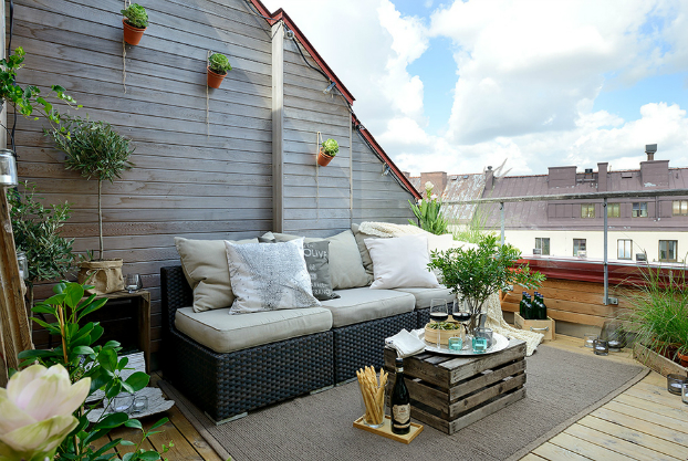 cozy scandinavian terrace 11