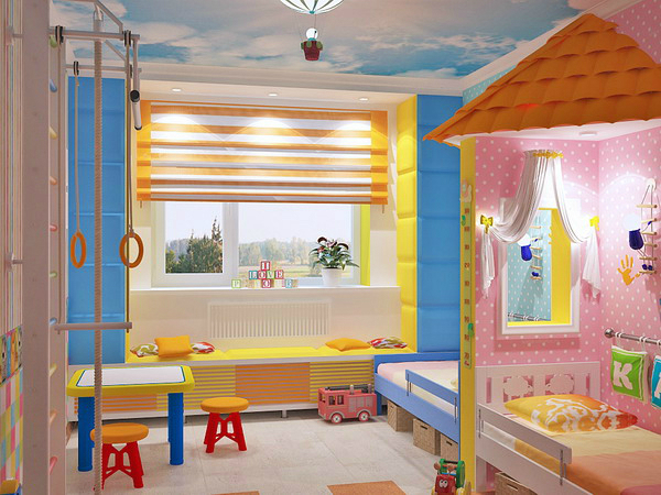 girl and boy designs for rooms