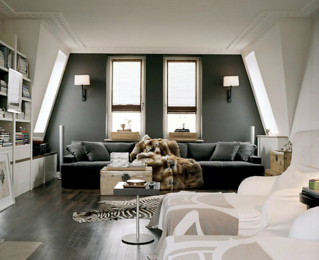 dark gray living room walls living room with dramatic walls 30 ideas decoholic 22439