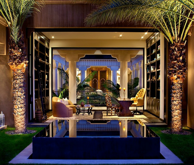 spectacural moroccan style house in l.a. - decoholic