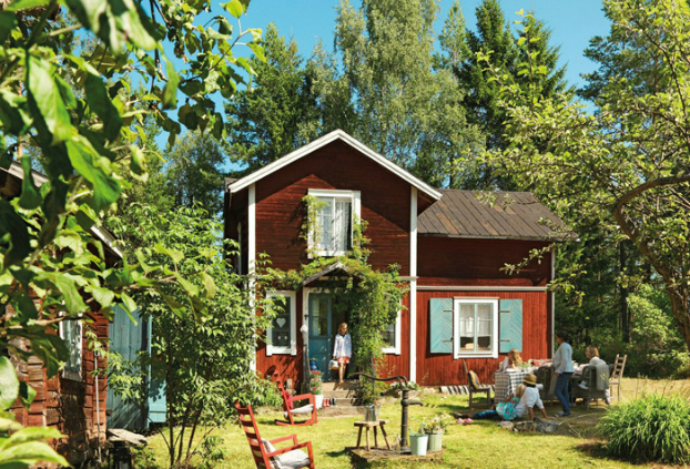 scandinavian summer house IKEA
