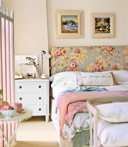English garden inspired bedroom 10