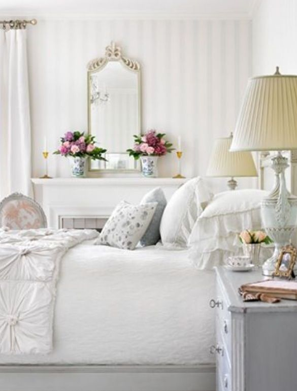 English garden inspired bedroom 11
