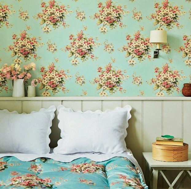 English garden inspired bedroom 12
