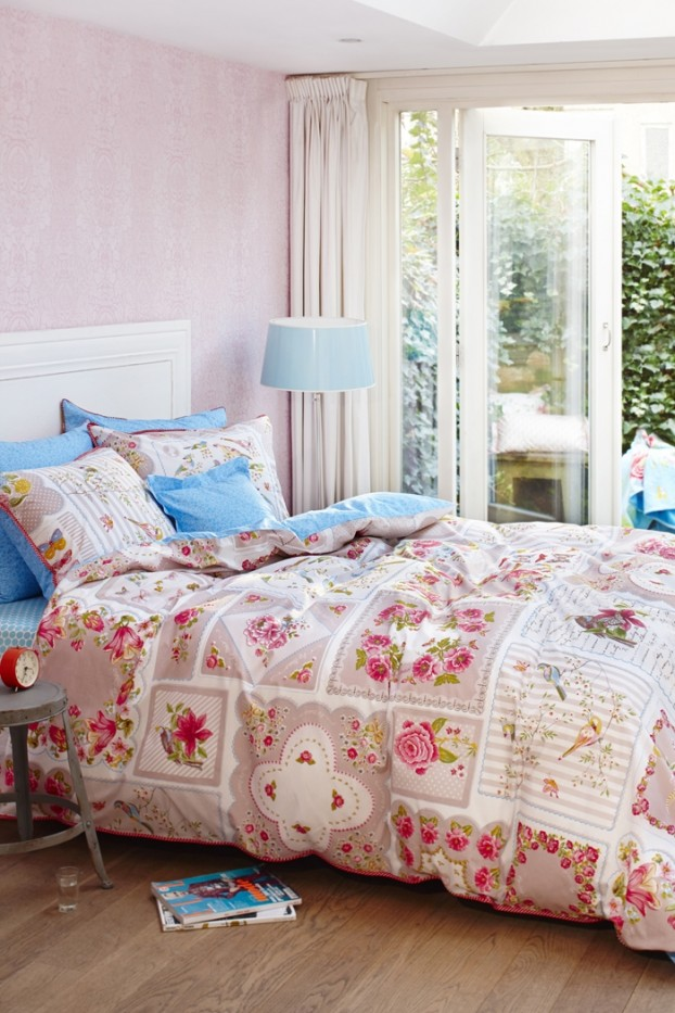 English garden inspired bedroom 14