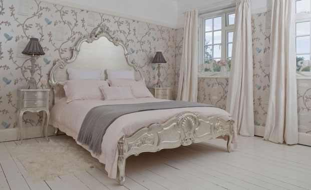 English garden inspired bedroom 23