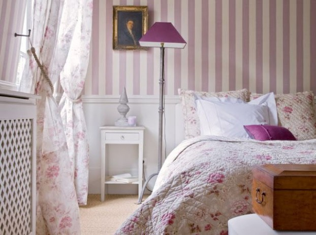 English garden inspired bedroom 30
