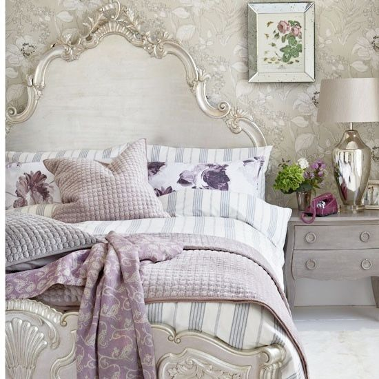English garden inspired bedroom 311