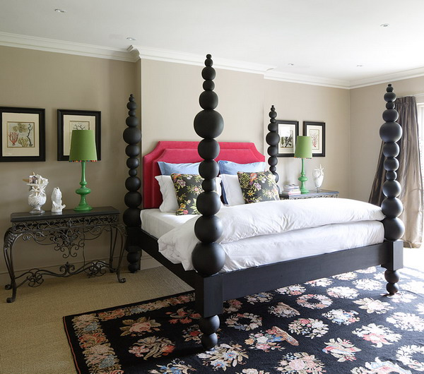 English garden inspired bedroom 33
