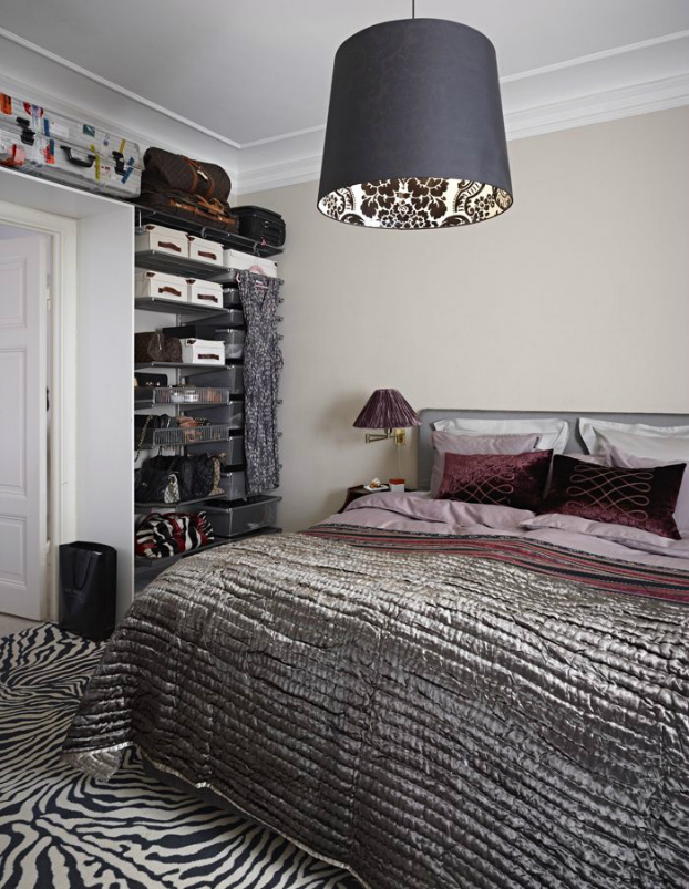 Ideas To Use Animal Prints Bedroom 13