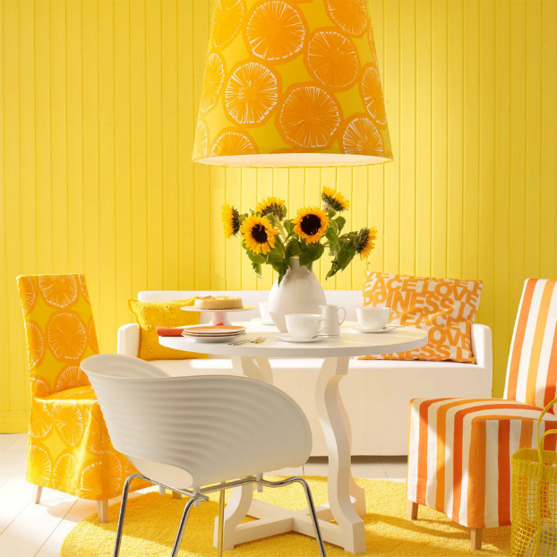 bold-yellow-orange-color-decor