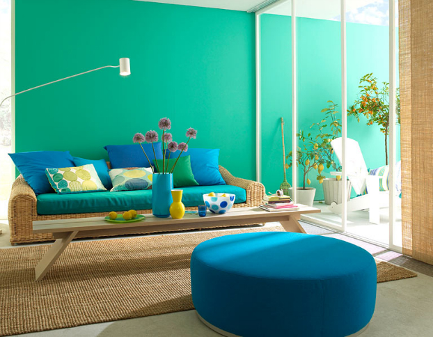 10 reasons to decorate your home with bold colors (24 pics