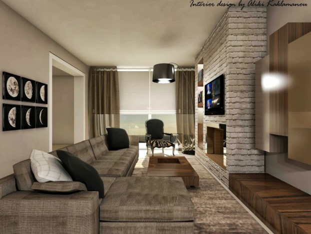 Charming Contemporary Living Room Designs By Aliki
