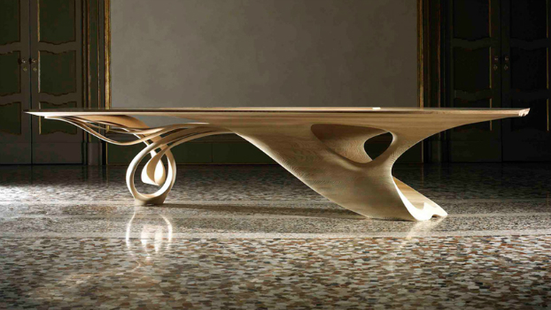 The continuum table by joseph walsh decoholic - Celebrity furniture designers ...