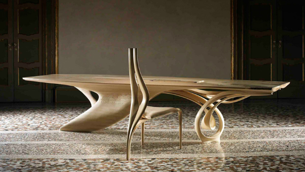 The continuum table by joseph walsh decoholic for Table form design