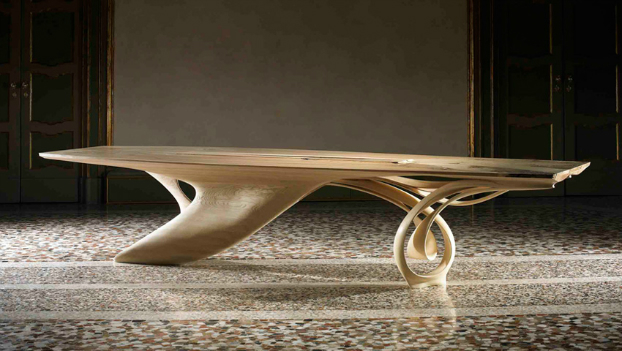 The continuum table by joseph walsh decoholic for Design massivholztisch