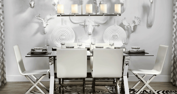 cosmopolitan dining room idea