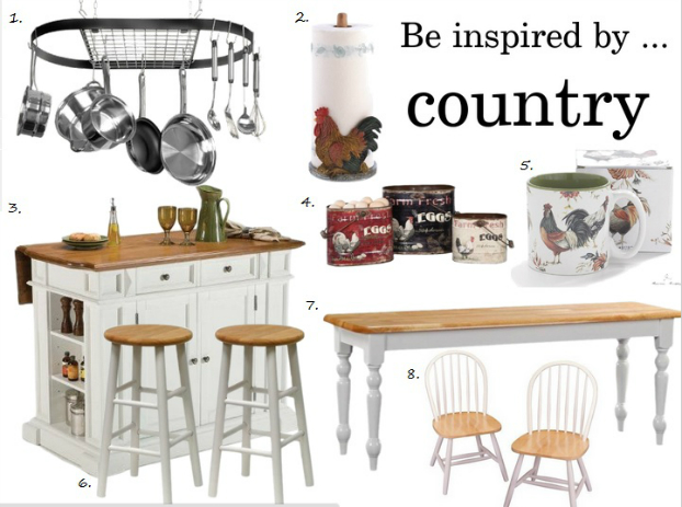 country kitchen decor ideas shop