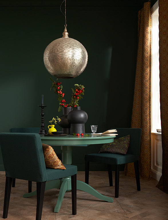 deep-emerald-dining-room-color-sheme