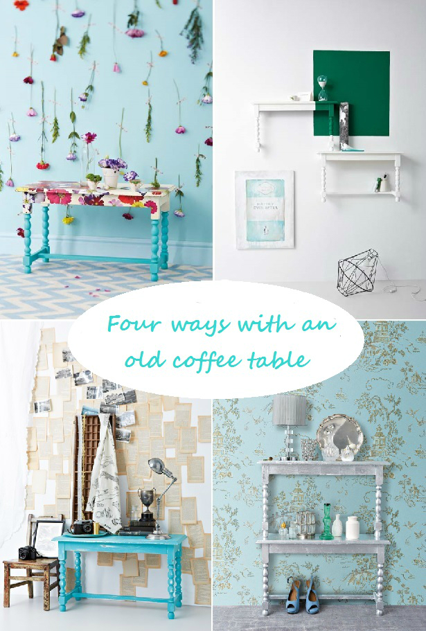 diy old coffee table ideas 6