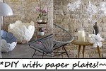 DIY plots With Paper Plates