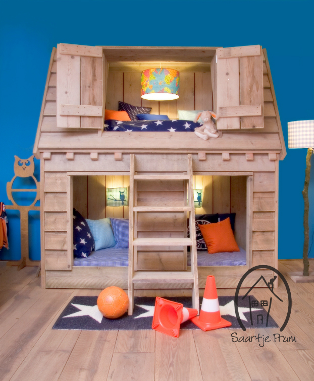 10 Fabulous Boys' House Beds - Decoholic