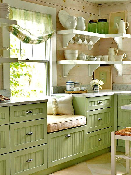 Inspiring Country Kitchen Design 19