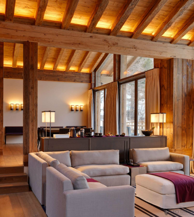 luxury Chalet With Warm and Cosy Ambience