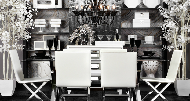12 interesting dining room ideas decoholic for Dining room z gallerie