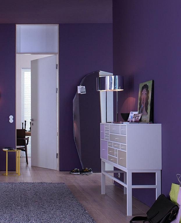 purple-hallway