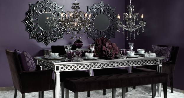 sophisticated setting dining room idea