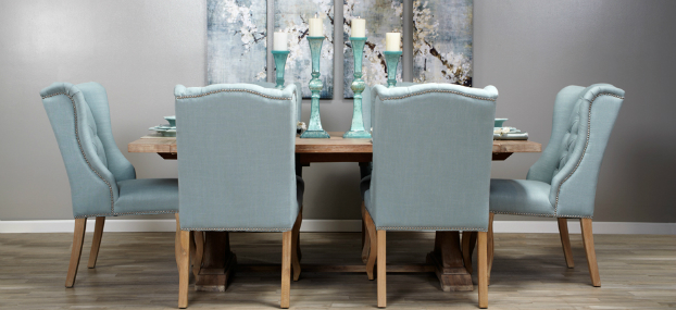 Subtle Shades dining room