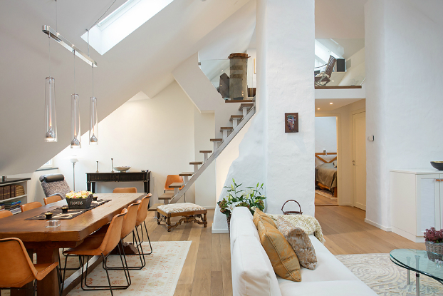 Fabulous Scandinavian Home With Attention To Details
