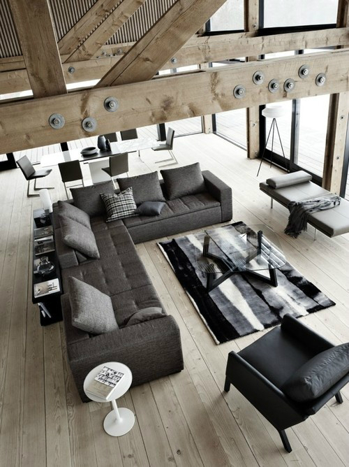 30 living room ideas for men decoholic. Black Bedroom Furniture Sets. Home Design Ideas