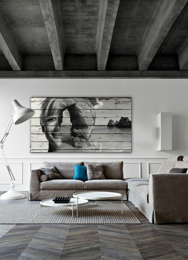 shades of grey in living room