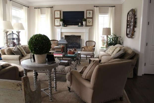 Cozy Living Room Decorating Ideas 18