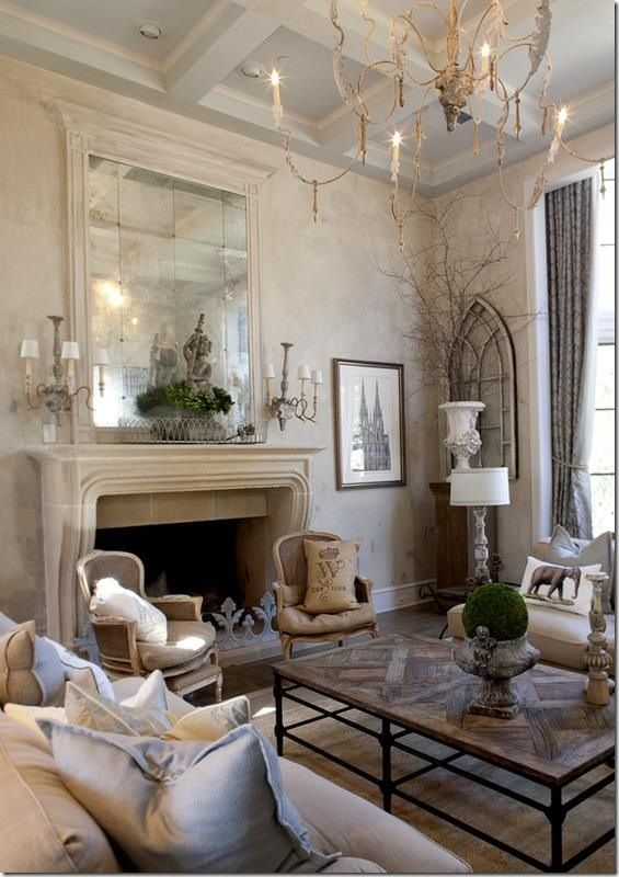 40 cozy living room decorating ideas decoholic for Modern shabby chic living room ideas