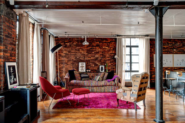 industrial loft restoration interior design