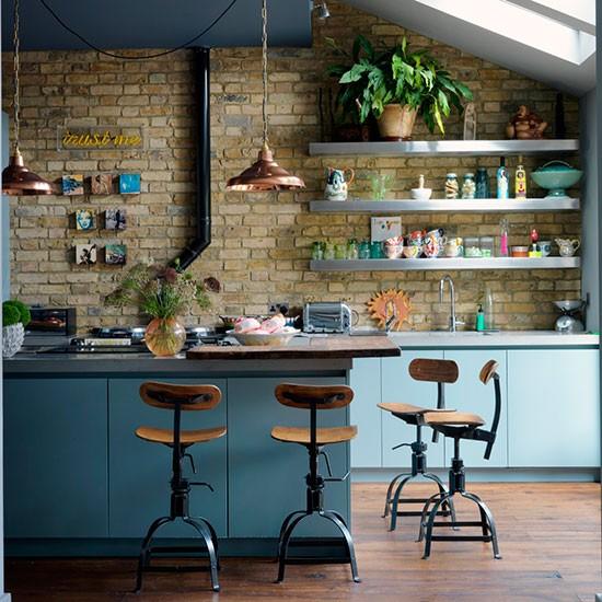 cozinha industrial design de interiores com sensação de aconchego