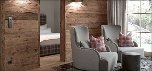 contemporary rustic chalet interior design  5