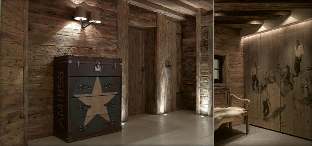 contemporary chalet with rustic atmosphere decoholic. Black Bedroom Furniture Sets. Home Design Ideas