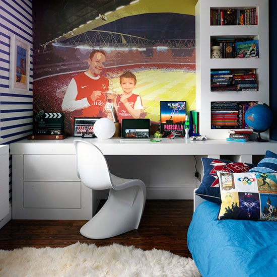 meninos moderno quarto