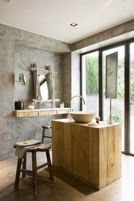 Rustic Bathroom Design 2
