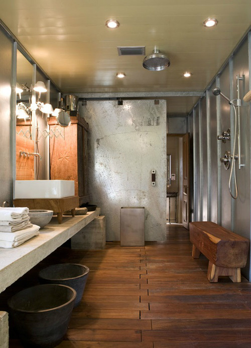 Rustic Bathroom Design 20
